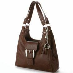 La Diva Buckle Shoulder Bag Purses And Handbags Kohls