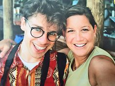 We laughed and laughed until it hurt in San Juan, Puerto Rico 1999. Love you, Claude Shade. You were amazing - Claude Shade & Jenny Leonetti