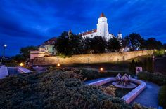 Visiting renovated Bratislava castle and the surrounding park is a great choice for relaxing afternoon also offering a very nice city view.