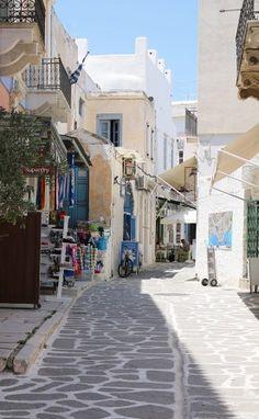 Paros, Naoussa, Kykladen, Griechenland, Hafen