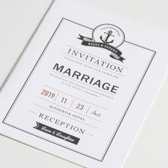 結婚式 招待状 Voyage 3