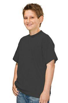 Blank Clothing - DALLAS | plain kids eco t-shirts | Hanes Brand