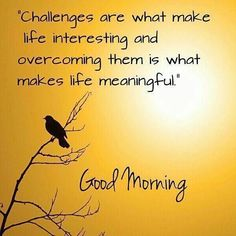 My challenge was overcoming my thought process of not being able to successfully become healthy and lose the weight. So I challenged myself and now I challenge you to overcome the thought that you can't succeed. You can succeed. Good Morning Motivation, Good Morning Friends Quotes, Good Morning Image Quotes, Morning Quotes Images, Good Morning Beautiful Quotes, Good Morning Inspirational Quotes, Morning Greetings Quotes, Good Morning Messages, Good Morning Good Night