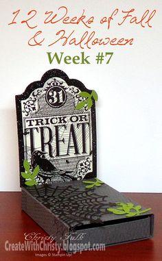 Create With Christy: 12 Weeks of Fall & Halloween - Week #7