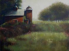 The Barn at The Danascara Place by Deborah Angilletta Oil ~ 18 x 24