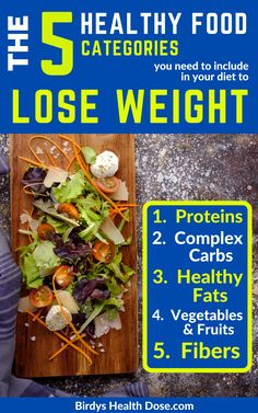 To get rid of extra pounds restrictive diets and starvation are not the solutions. I will show you what to eat to get rid of extra pounds and burn fat without counting calories and eating only fade foods. Below are the 5 categories of foods to include in your daily diet if you want to burn fat and stay healthy: