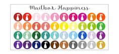 Erin Condren Planner Stickers Cleaning by MailboxHappiness on Etsy