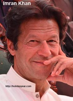 Nov 25 - Imran Khan, Pakistani politician and retired cricketer was Born Today. For more famous birthdays http://holidayyear.com/birthdays/