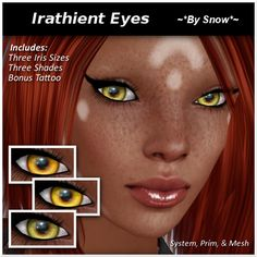 Second Life Marketplace - ~*By Snow*~ Irathient Eyes