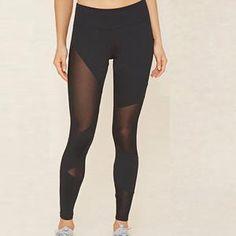 e416840678216 Athletic Trouser Mesh Insert Leggings-Social Ads Atlanta Yoga Leggings,  Mesh Yoga Pants,