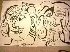 great for looking at drawing faces from different angles.