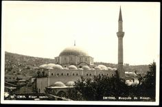 turkey SMYRNE IZMIR Hisar Camii, Mosque Hissar 30s RPPC