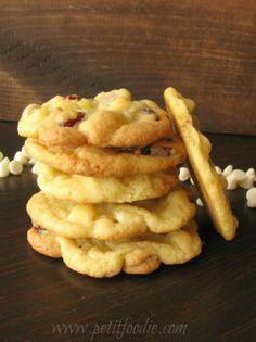 orange cran cookies