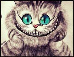 imagenes para dibujar del gato sonriente - Buscar con Google