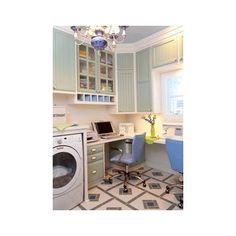 RaeLynn Callaway - traditional - laundry room - little rock - Classically Yours Interiors (CYInteriors) Rustic Laundry Rooms, Laundry Decor, Small Laundry Rooms, Sewing Room Design, Sewing Room Decor, Laundry Room Design, Room Closet, Home Appliances, Studio Ideas