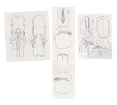 Fashion Sketchbook - fashion drawings; dress sketches; fashion portfolio // Valeska Collado