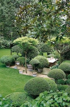 Anouska Hempel Garden {how about going in this direction down by the lake...}