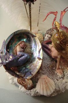 Lovely Mermaids-ooak art doll fantasy sculpture-03-05-2011 - international ooak art 'Doll Makers Academy and Association