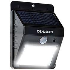 New generation design solar motion sensor light outdoor lifetime idealeben bright 8 led wireless solar powered motion sensor light outdoor security lighting aloadofball Choice Image