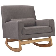 Nursery Works Sleepytime Rocker Pebble