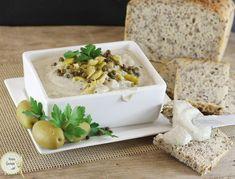 Pasta z pieczonego bakłażana i czosnku   AniaGotuje.pl Feta, Camembert Cheese, Freezer, Sauces, Chest Freezer, Freezers, Gravy, Dips