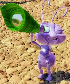 a bug's life, disney, movie, movies, adorable, nature, bug, ant,