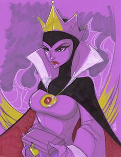 Warm Up 2, 12-29-2013 The Evil Queen by Hodges-Art