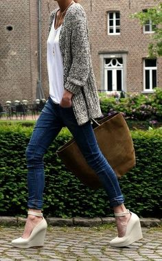 classy casual by christina carrera Hmmmmm why does this NOT look comfortable to me ?!?!?