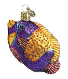 The Jolly Christmas Shop - Old World Christmas Tropical Fish, $7.99 (http://www.thejollychristmasshop.com/old-world-christmas-tropical-fish/)