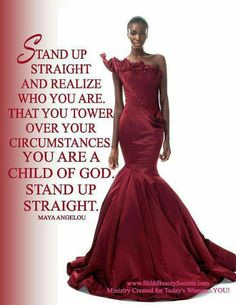 Stand Up Straight.