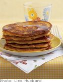 These are absolutely tasty and a regular dish in our house! Sweet potato pancakes, are oh so delish! My son loves them and the best part they are healthy. I usually will make up a huge batch and store the extra in the fridge or always have pureed sweet potato's in the fridge. Sweet potato's have a low GI (glycemic index) for those that like to know those little details. I know we are trying to eat better as a family.