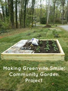 Looking for a great random acts of kindness community project. Start a community garden! It is such a great way to help others and get kids involved in kindness!