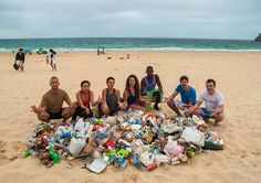 keep the beach clean!