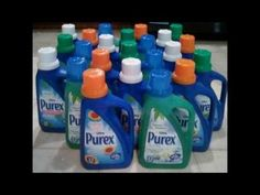 How to get 24 bottles of Laundry Detergent for $12 w/ coupons