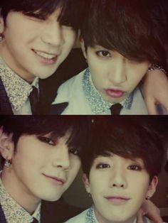 Hansol & B-joo xx ^^ My favs in Topp dogg xx ( ˘ ³˘)♥