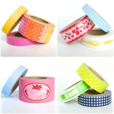 New washi tape designs