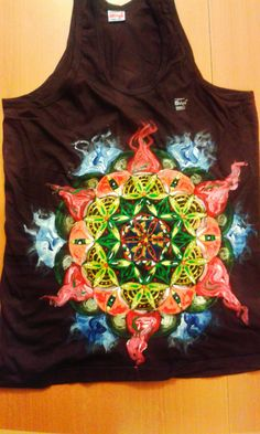 mandala front and back