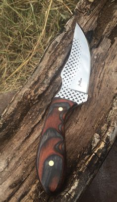 File knife made out of one of my old farrier rasp. JoeBear