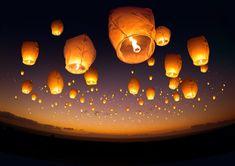 #Chinese #Newyear Flying #Lanterns