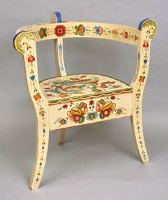 Chair :: Wisconsin Decorative Arts Database
