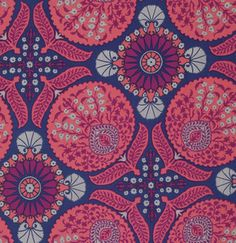 Fabric... Flora Bazzar in Orchid by Joel Dewberry for FreeSpirit Fabrics