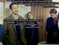 Remus and Nymphadora <3