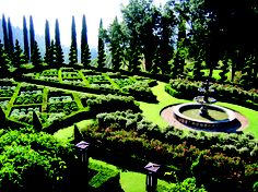 Love this formal garden...