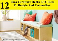 12 Ikea Furniture DIY Hacks And Ideas To Restyle Your Home...For more creative tips and ideas FOLLOW https://www.facebook.com/homeandlifetips