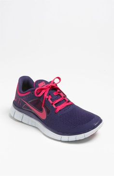 Nike 'Free Run+ 3' Running Shoe (Women) available at #Nordstrom