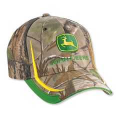 realtree john deere hat