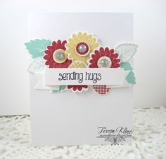 Paperie Blooms: Simon Says Stamp-Let'e Be Clear/Sending Hugs
