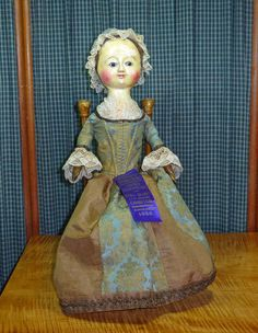 Charming Queen Anne Georgian English Wooden Doll A True 18th C Antique | eBay