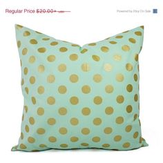 ON SALE Two Metallic Gold Pillow Covers (€16) ❤ liked on Polyvore