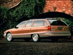 Chevrolet Caprice Wagon 1991. This would be the last of the full-sized, rear…
